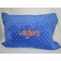 Swankie Pillow Longhorn Blue