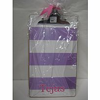 Decorated Clipboard Tejas Striped or Dotted