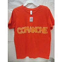 Applique Tee Comanche Orange