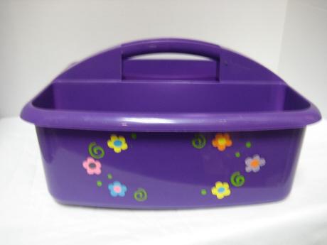 Shower Caddy   Purple