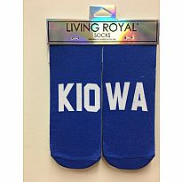 Living Royal Socks Kiowa