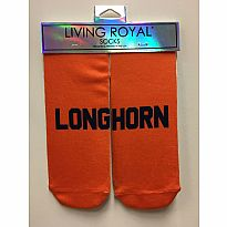 Living Royal Socks Longhorn Orange