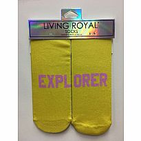 Living Royal Socks Explorer Pink