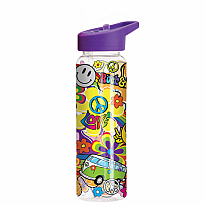 Water Bottle Flip Top - Hippie