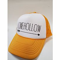 Trucker Hat Lonehollow Yellow