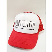 Trucker Hat Lonehollow Red