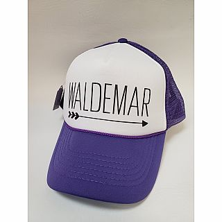 Trucker Hat Waldemar Purple