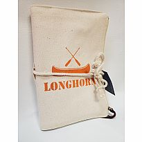 Canvas Journal Longhorn Orange