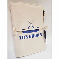 Canvas Journal Longhorn Blue