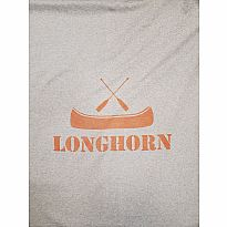 Sweatshirt Blanket Longhorn Orange