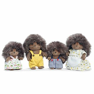 Calico Critters Hedgehog Family