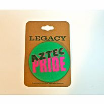 Aztec Pride Button