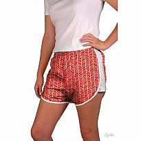 Azarhia Short Herringbone Red YXL