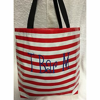 Tote T Bar M Red
