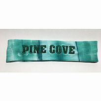 Logo Loop Headband Pine Cove