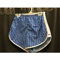 Azarhia Short Herringbone Blue AXS