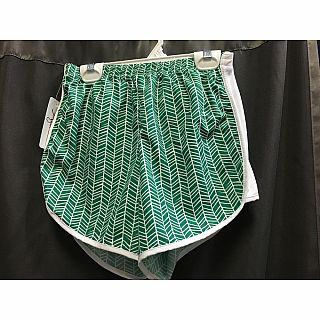 Azarhia Short Herringbone Green AXS