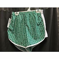 Azarhia Short Herringbone Green YS
