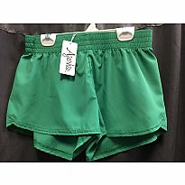 Azarhia Short Solid Green YS
