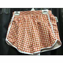 Azarhia Short Gingham Orange YS