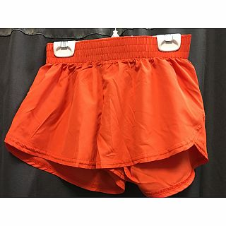 Azarhia Short Solid Orange YM