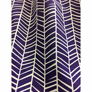 Azarhia Short Herringbone Purple YS