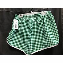 Azarhia Short Gingham Green AM