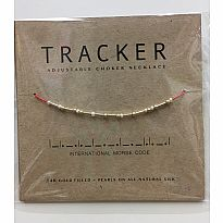 Morse Code Necklace Tracker