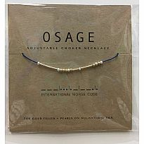 Morse Code Necklace Osage