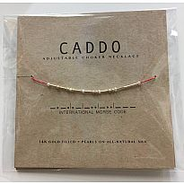 Morse Code Necklace Caddo