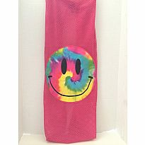 Tie Dye Smiley Face Laundry Bag