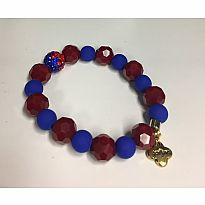 Erimish Bracelet Ruby Red Blue