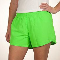Azarhia Short Solid Neon Green YXL