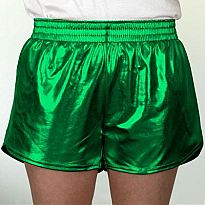 Azarhia Short Metallic Green YS