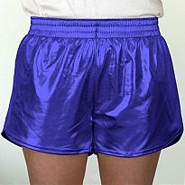 Azarhia Short Metallic Royal Blue YXL