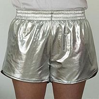 Azarhia Short Metallic Silver AS