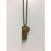 Necklace Camp Charm T Bar M