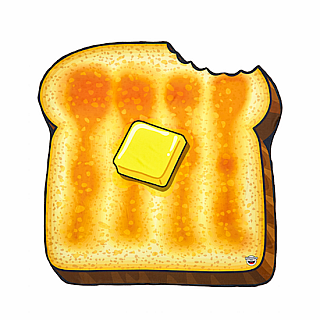 Beach Blanket Buttered Toast
