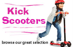 Kick Scooters and accessories